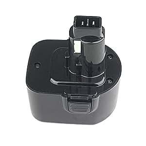 12V 3.0Ah Battery for Dewalt DW930 DW965 DW970 DW972 DE9074 DE9075 DE9071 DE9501