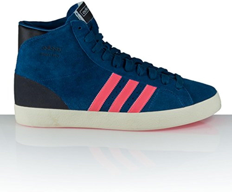adidas Blau Unisex Sneaker Basket Profi OG Freizeit Turnschuhe Basketball Schuh D65924