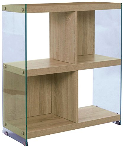 WINK DESIGN Nancy Libreria, 4 Vani, Legno, Rovere, 71x30x80 cm