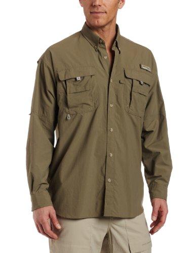 Columbia bahamatm II L/S Shirt, chemise de pêche pour homme Sauge