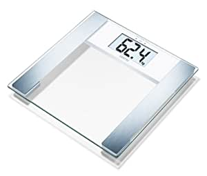 Sanitas SBF 48 USB Diagnosewaage, glas-silber