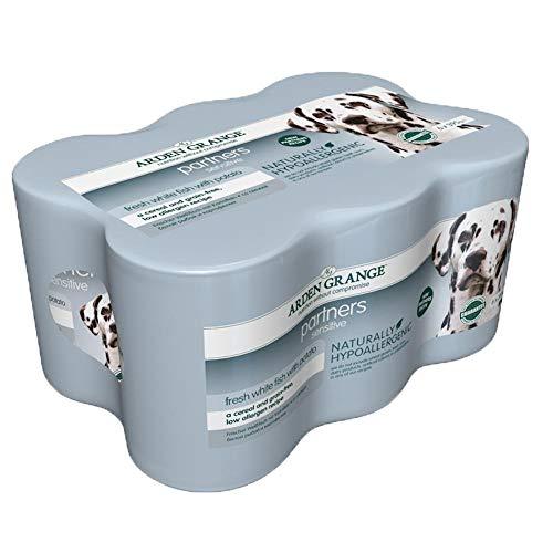 PET-403393 Arden Grange Dog Partners Sensitive (6x395g) 4er Pack