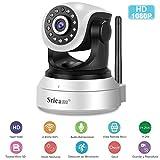 Cámara IP Wifi, Sricam HD 1080P Cámara de Vigilancia Interior...