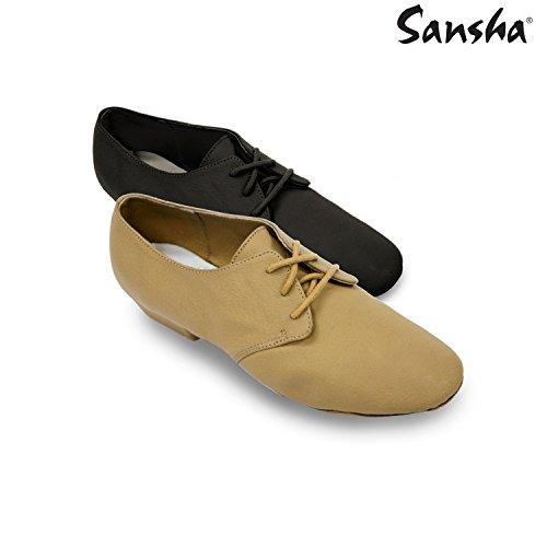 Sansha JS41Cabaret-Schuhe Jazz Schwarz