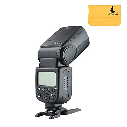Godox TT600 2.4 G Wireless Flash Speedlite Flash master/slave con Built-in sistema di trigger per canon, Nikon, Pentax, Olympus, Fujifilm, Panasonic (TT600)