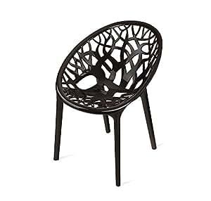 Nilkamal Crystal Chair (Black)