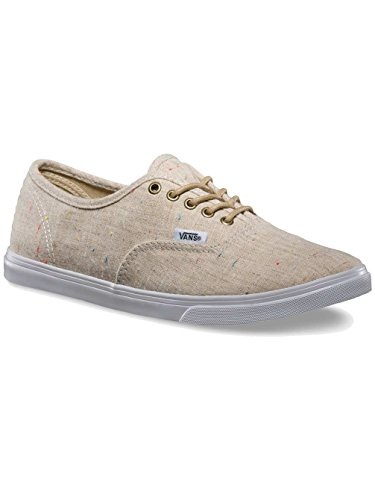 Vans U Authentic Lo Pro, Sneakers Hautes mixte adulte Speckle Linen/Tan