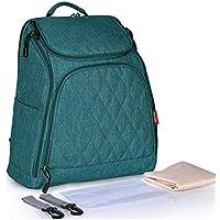 BaBaSM Praktisch Mummy Rucksack Tasche Organizer, Mummy Mutterschaft Windel Tasche große Kapazität Baby Travel Handtasche Rucksack
