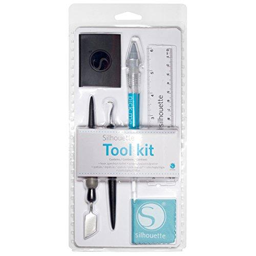 Silhouette America 5Pc. Tool Kit Erkzeugset für Hobbyplotter, acryl, Weiß, Unterschiedlich