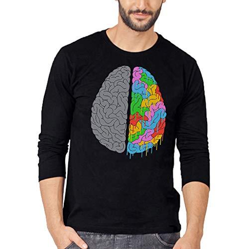 Camiseta manga Larga cerebro