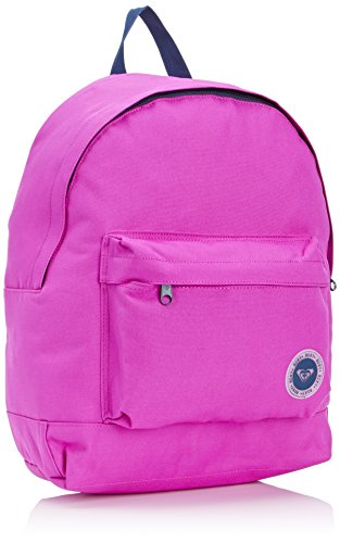 Roxy Mochila tipo casual Be Young Plain 23 litros Verde (Electric Purple)
