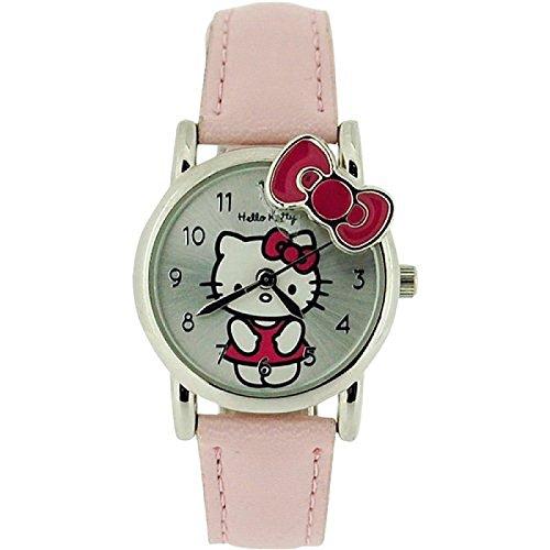 Hello Kitty 915/7624-ahk028–Montre pour Filles, Bracelet en Plastique Rose