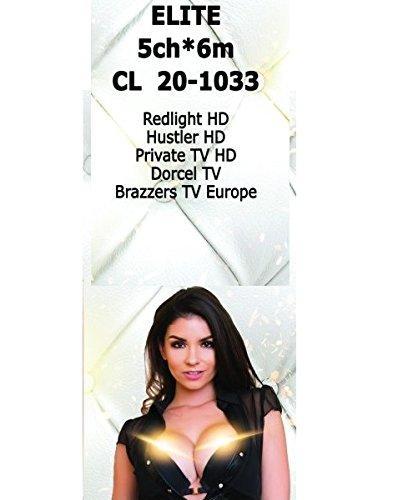 Redlight HD Elite 5 High Class Kanäle 6 Monate in Viaccess auf Hotbird(Hustler,Dorcel,PrivateTV,Brazzers)