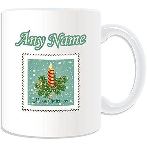 Occasions Direct-Candela di Natale con regalo, motivo: