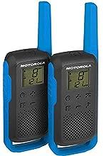 Motorola Talk About T62 PMR della radio (PMR446, 16 canali e 121 codici, raggio d' azione fino a 8 km)