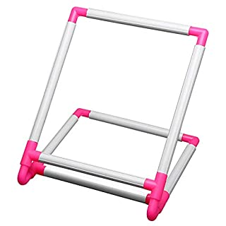 TOOGOO Embroidery Frame Practical Universal Clip Plastic Cross Stitch Hoop Stand Holder Support Rack Diy Craft Handheld Tool