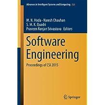 Software Engineering: Proceedings of Csi 2015