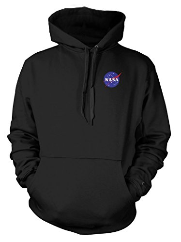 nasa-espacio-exploracion-color-badge-kids-sudadera-con-capucha-negro-negro-12-13-anos