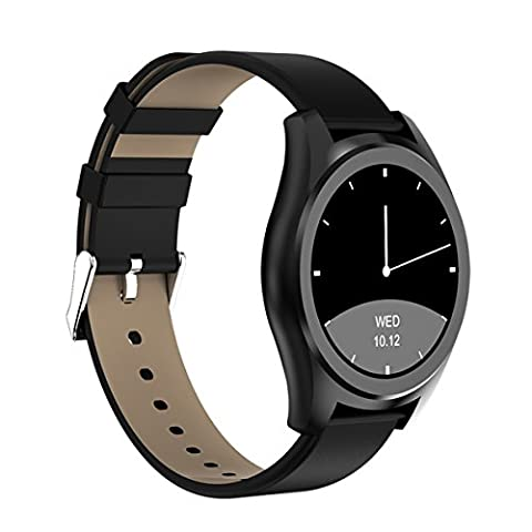 Diggro DI03 Smart Watch IP67 Waterproof 128MB + 64MB 1.15cm Ultra-thin Health Wristband with Heart Rate Monitor Pedometer Sedentary Reminder Sleep Monitor Messages Notifications Bluetooth Siri Activity Tracker for Android IOS