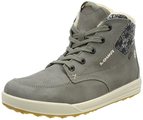 Lowa Damen Mosca GTX QC WS Hohe Sneaker, Braun (Taupe/Creme_Taupe/Cream), 42 EU
