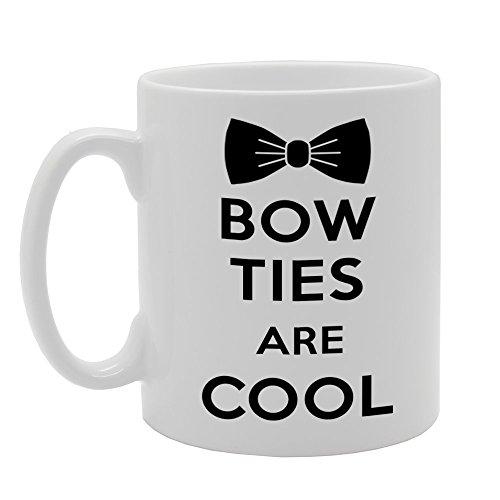 MG611Bow Ties Are Cool Neuheit Geschenk bedruckt Tee Kaffee Tasse aus Keramik