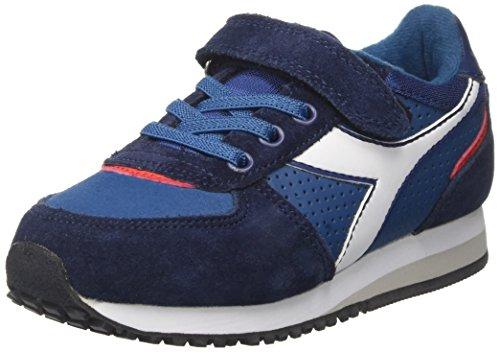 Diadora malone s jr, scarpe sportive bambino, blu (blu stellare), 31 eu
