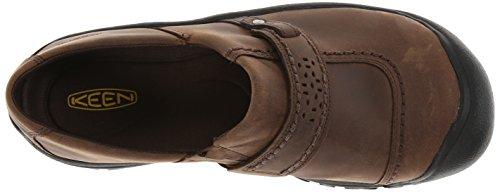 Keen Kaci Full Grain de femmes Slip-On Slip On Shoes Cascade Brown