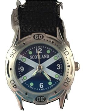 Schottland Analog Quarz Classic Klettverschluss armbanduhr RRP-70% Discount.