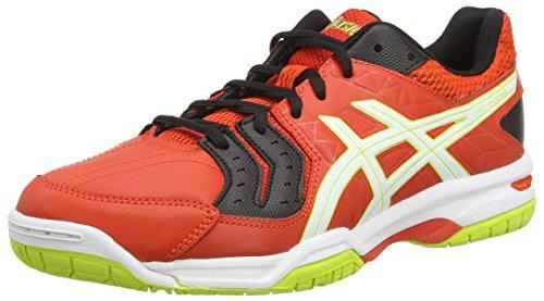 Asics Gel-squad, Chaussures de Handball Homme Rouge (cherry Tomato/white/black 2101)