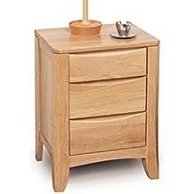 LI JING SHOP - Muebles de madera maciza Mesillas de noche Dormitorio de estilo europeo Armario de almacenamiento