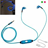 Cuffie Best Deals - Alcoa Prime Hot LED Earphone In Ear Glow In-ear Growing Earphones Ecouteur Auriculares Cuffie Audifonos for Mp3 Player