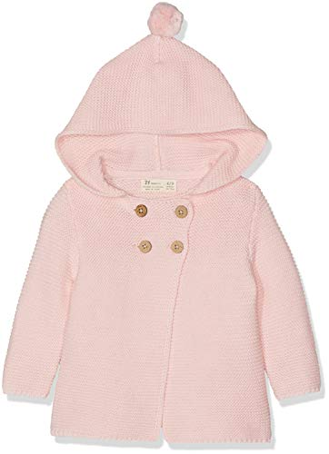 ZIPPY Baby-Mädchen Zng0202_455_2 Kapuzenjacke, Quartz Pink 788, 68 (Herstellergröße: 3/6M)