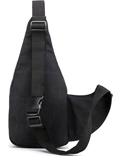 Aidonger Portadocumenti da collo, Grau (grigio) - BB97-GY nero
