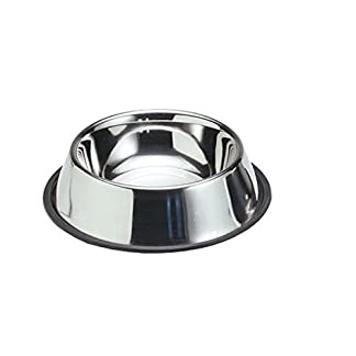 Karlie Accessories - Stainless Dog Bowl Rubber Ring 18 cm 900ml 7