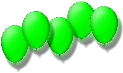 5 Blinkende Led Luftballons In Grn Inklusive Leuchtmittel Und Batterien von KnickLichter.de