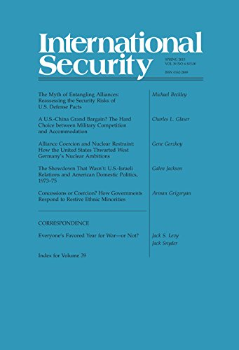 International Security 39:4 (Spring 2015) (English Edition)