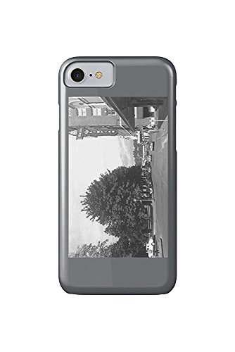 Olympia, Washington - View of Capitol Park, 6th, Exterior View of Hotel Olympian (iPhone 7 Cell Phone Case, Slim Barely There) -