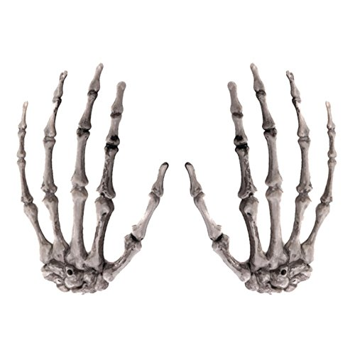 1 Paar Skelett Hände für Halloween Halloween Dekoration Party Requisiten Home Verzierungen
