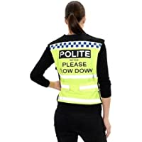 Equisafety - Chaleco de Seguridad Modelo Polite Please Slow Down