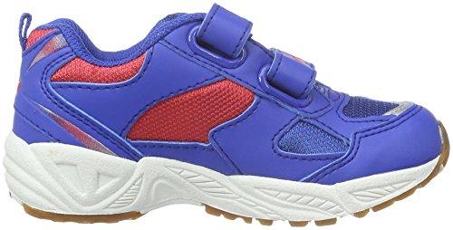 Lico  Bob V, Chaussures indoor enfant mixte Bleu (Blau/Rot)