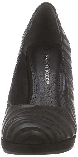 Marco Tozzi 22442 Damen Pumps Schwarz (Black Zebra 066)