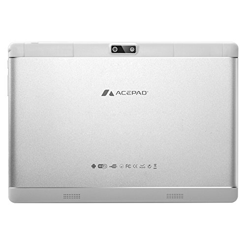 ACEPAD A96 10 Zoll (9.6) Tablet PC 3G (Dual-SIM) 48GB IPS HD 1280×800 Quad Core Android 5.1 WIFI WLAN USB SD (Weiß) - 3