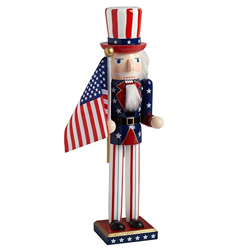 Uncle Sam with American Flag ()
