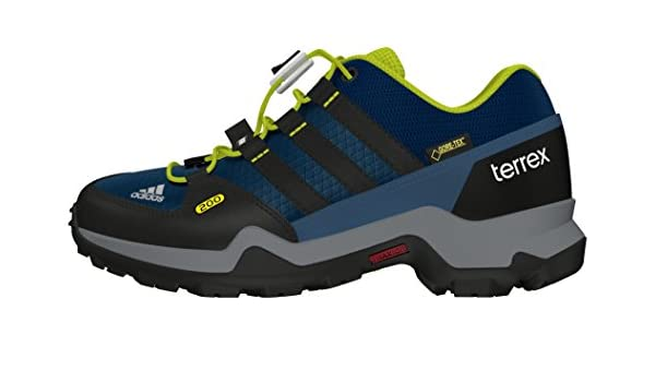 adidas Jungen Terrex GTX K Trekking & Wanderhalbschuhe, blau