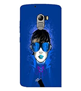 PrintDhaba Face D-3966 Back Case Cover for LENOVO K4 NOTE A7010a48 (Multi-Coloured)