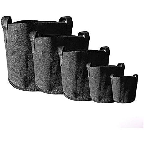 JOYOOO 3x sacchi per piante di tessuto non tessuto con