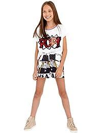 GULLIVER Pantalones Cortos para Niña Shorts 9-14 Años