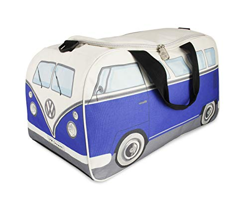 Brisa VW Collection VW T1 Bus Sporttasche Klein - Blau/Beige