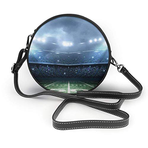 Crossbody Taschen Simple Shoulder Crossbody Bag Functional Pocket Wallet Purse - American Football Stadium