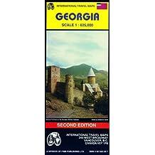 Carte routière : Géorgie